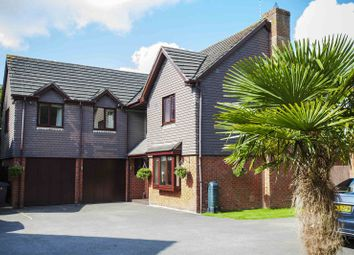 Thumbnail 5 bedroom detached house for sale in Forge Close, Bramley, Tadley