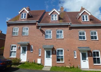 Thumbnail 3 bed town house to rent in Frost Fields, Castle Donington, Derby