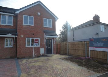 Thumbnail 2 bedroom end terrace house for sale in Tame Road, Tipton