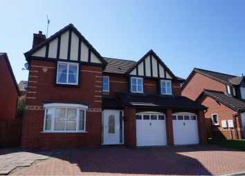 Thumbnail 5 bed detached house for sale in Cheddleton Park Avenue, Leek