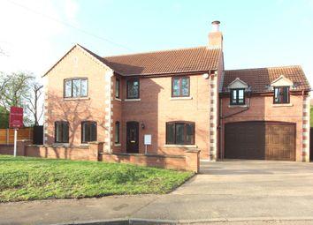 Thumbnail 5 bed detached house for sale in Roman Drive, Stibbington, Peterborough