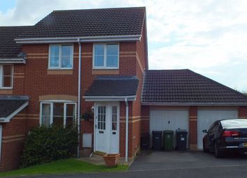 Thumbnail 3 bedroom semi-detached house to rent in Gibbs Lease, Paxcroft Mead, Trowbridge