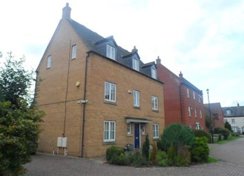 Thumbnail 5 bed detached house to rent in Shearwater Drive, Rugby