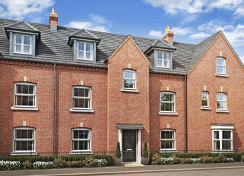 "Thumbnail 4 bed detached house for sale in ""Hexham"" at Greenkeepers Road, Biddenham, Bedford"