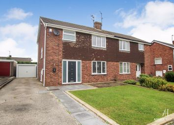 Thumbnail 3 bed semi-detached house for sale in Heather Close, Swanwick, Alfreton