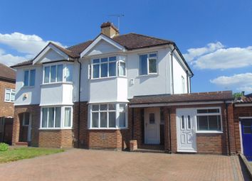 Thumbnail 3 bedroom semi-detached house for sale in Cambridge Road, Hitchin
