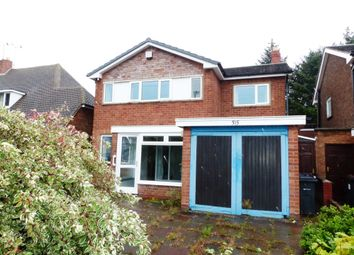 Thumbnail 3 bed detached house for sale in Quinton Road, Harborne, Birmingham