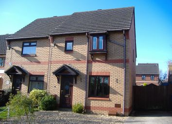 Thumbnail 3 bedroom property to rent in St. Nons Close, Brackla, Bridgend