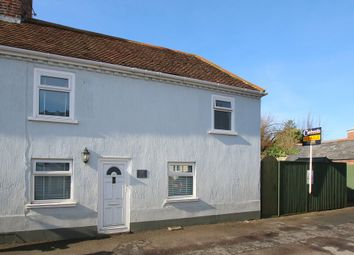 Thumbnail 2 bed semi-detached house for sale in Waterloo Road, Lymington, Hampshire