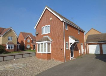 Thumbnail 3 bed detached house for sale in Rodber Way, Lowestoft