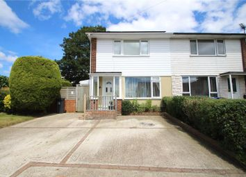 Thumbnail 3 bedroom end terrace house for sale in Abbotts View, Sompting, West Sussex