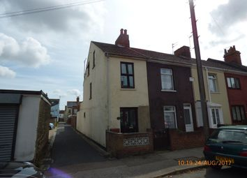 Thumbnail 4 bedroom end terrace house to rent in Ipswich Road, Lowestoft