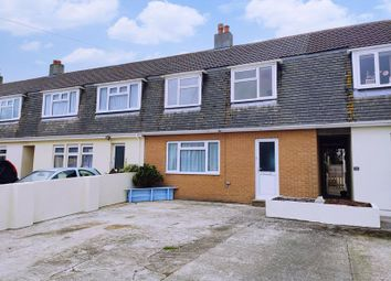 Thumbnail 3 bed terraced house to rent in Crown Crescent, St. Newlyn East, Newquay