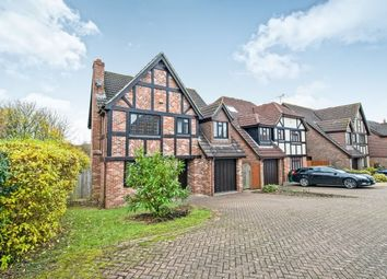 Thumbnail 4 bed detached house to rent in Lymington Close, Basingstoke