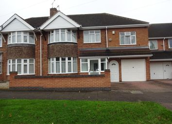 Thumbnail 5 bed semi-detached house for sale in Walsgrave Avenue, Evington, Leicester