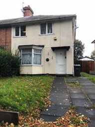 Thumbnail 3 bed end terrace house to rent in Longford Road, Kingstanding, Birmingham