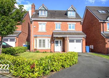 Thumbnail 6 bed detached house for sale in Snowberry Crescent, Warrington