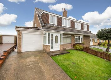 Thumbnail 3 bed semi-detached house for sale in Aldwych Close, Normanby