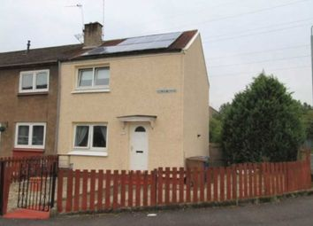 Thumbnail 2 bed end terrace house for sale in Cowal Drive, Linwood, Paisley