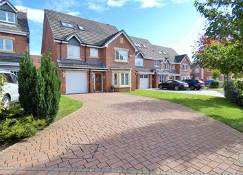 Thumbnail 5 bed detached house for sale in Snowberry Crescent, Warrington