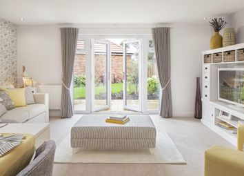 "Thumbnail 3 bed terraced house for sale in ""Leeman"" at Locksbridge Road, Picket Piece, Andover"