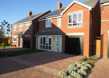 Thumbnail 4 bed detached house for sale in Cornfield Close, Off Newton Lane, Austrey