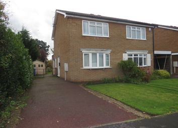 Thumbnail 2 bed semi-detached house for sale in Cromford Drive, Mickleover, Derby