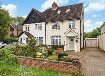 Thumbnail 4 bed semi-detached house for sale in Green Road, Thorpe, Egham, Surrey