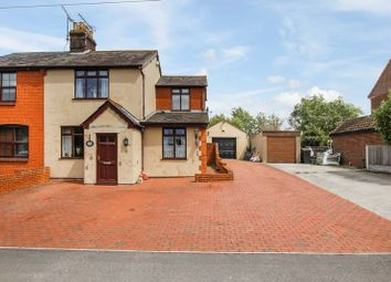 Thumbnail 3 bed semi-detached house for sale in Southend Road, Rettendon Common, Chelmsford
