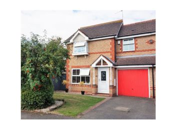 Thumbnail 3 bed semi-detached house for sale in Calder Close, Droitwich