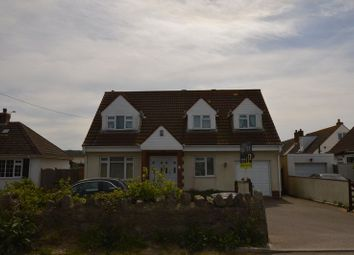 Thumbnail 3 bed detached house for sale in Sand Road, Kewstoke, Weston-Super-Mare, Somerset