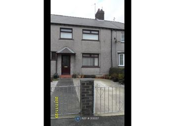 Thumbnail 3 bed terraced house to rent in Ffordd Coed Mawr, Bangor