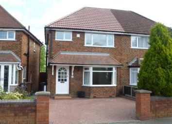 Thumbnail 3 bedroom semi-detached house to rent in Scott Road, Olton, Solihull.