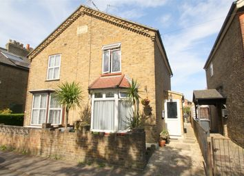 Thumbnail 3 bed semi-detached house for sale in Railway Terrace, Staines-Upon-Thames, Surrey