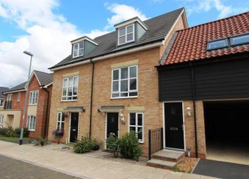 Thumbnail 3 bedroom town house for sale in Stokes Drive, Godmanchester, Huntingdon