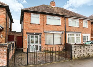 Thumbnail 3 bed semi-detached house for sale in Lydford Road, Leicester
