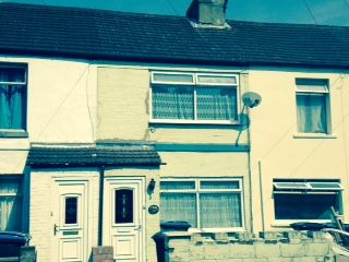 Thumbnail 2 bed terraced house to rent in Coombe Valley Road, Dover