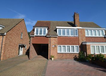 Thumbnail 4 bed semi-detached house for sale in Appledore Crescent, Sidcup