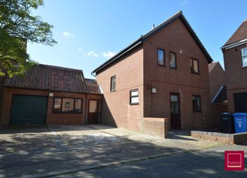 Thumbnail 5 bed detached house for sale in Mayes Close, Norwich