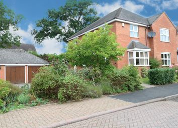 Thumbnail 4 bed detached house for sale in Aldershaws, Dickens Heath, Shirley, Solihull