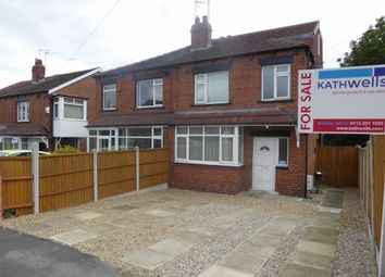 Thumbnail 3 bed semi-detached house for sale in Wesley Terrace, Bramley, Leeds, West Yorkshire