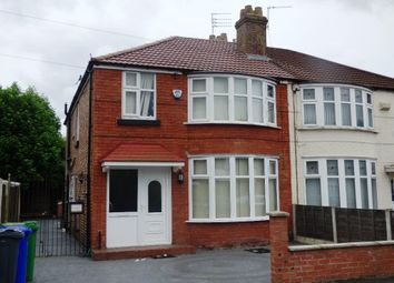Thumbnail 6 bedroom semi-detached house to rent in Victoria Road, Fallowfield, Manchester