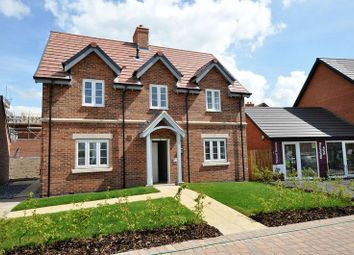 Thumbnail 4 bed detached house for sale in Measham Road, Moira, Swadlincote