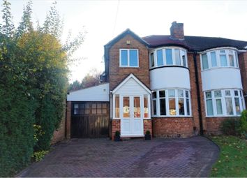 Thumbnail 3 bed semi-detached house for sale in Bourne Close, Birmingham