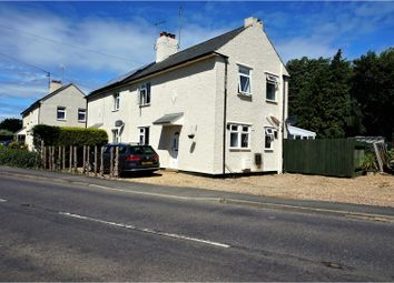 Thumbnail 3 bed semi-detached house for sale in Peakirk Road, Peterborough