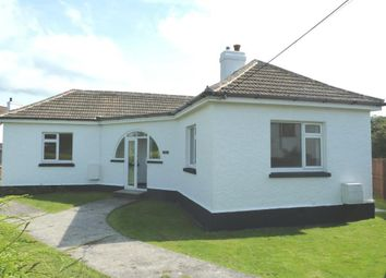 Thumbnail 3 bed detached bungalow to rent in Stoke Road, Kelly Bray, Callington, Cornwall