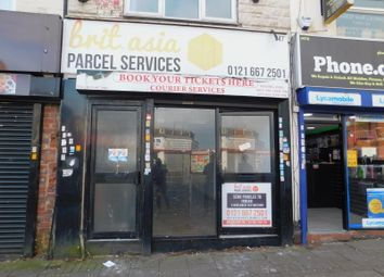 Thumbnail Retail premises to let in 347 Soho Road, Birmingham