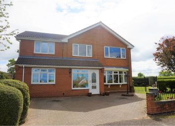 Thumbnail 6 bed detached house for sale in Paddock Close, Grantham