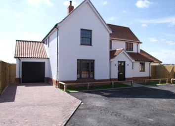 Thumbnail 4 bedroom detached house for sale in Chuch Road, Cratfield, Halesworth