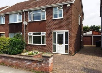 Thumbnail 3 bed semi-detached house to rent in Ivybridge Road, Styvechale, Coventry
